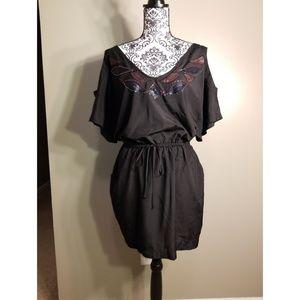 XOXO Cold Shoulder Mini Dress